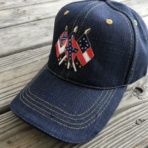 CSA 3 Flags Denim Cap