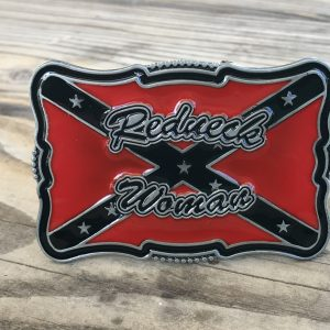 Rebel Redneck Woman Belt Buckle