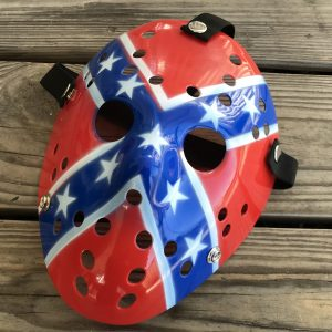 Rebel Flag Hockey Mask