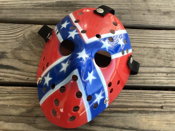 Rebel Flag Hockey Mask