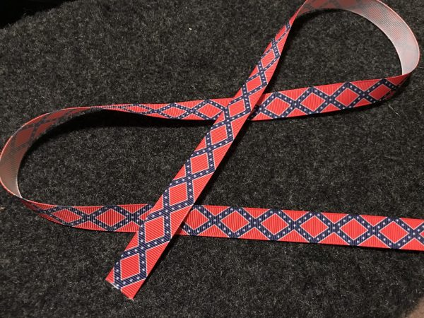 Confederate Battle Flag Ribbon