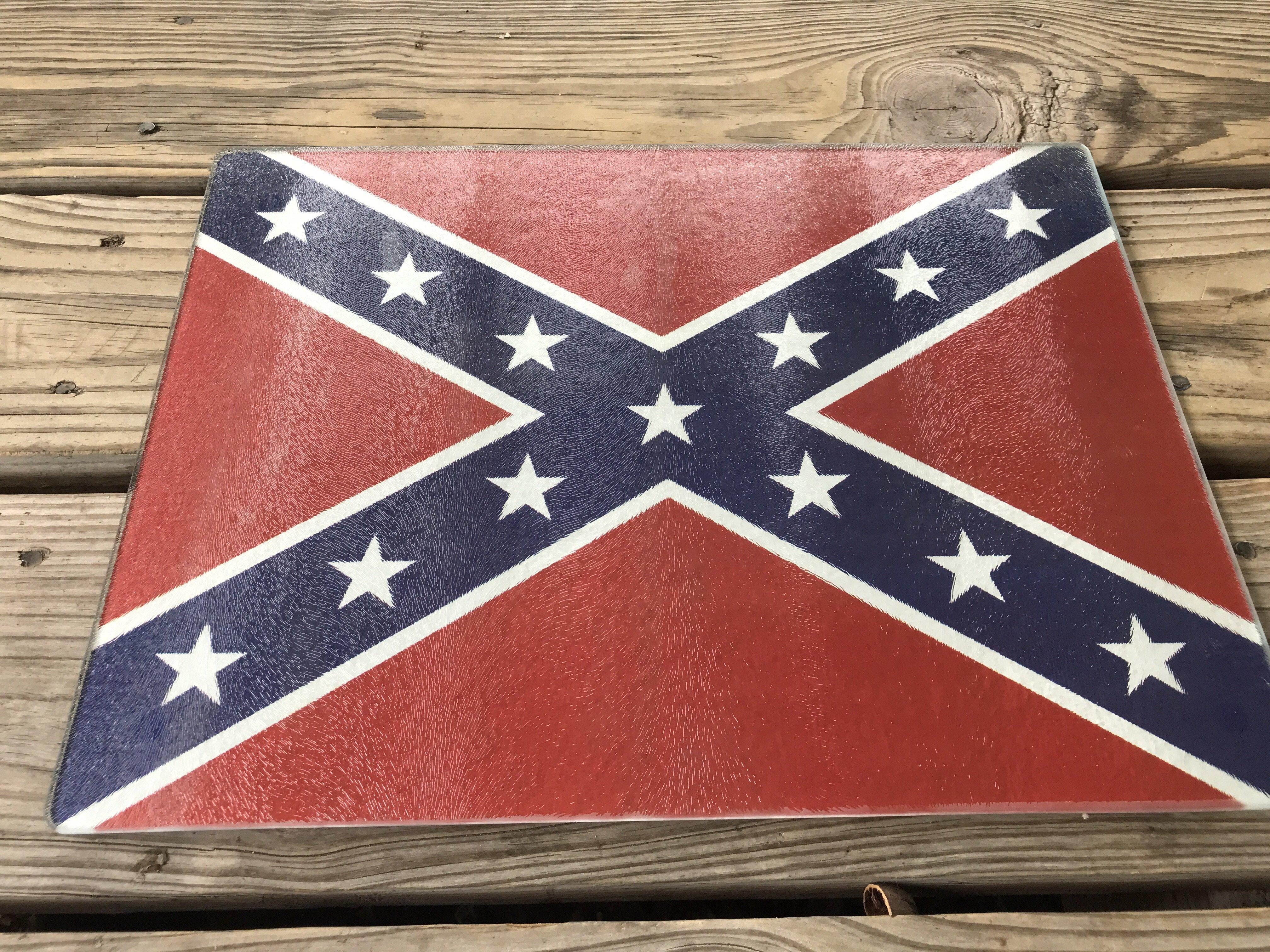 Confederate Flag Cutting Board