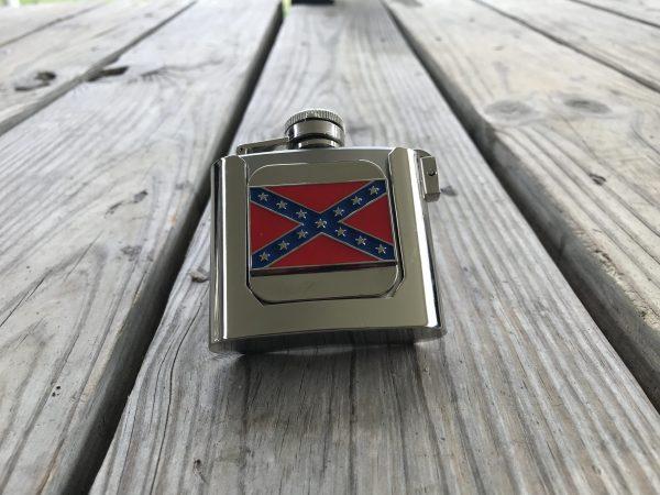 Rebel Flask Belt Buckle