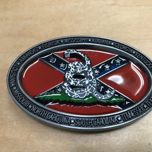 Rebel Don't Tread On Me Belt Buckle