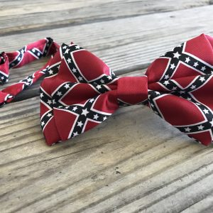 Confederate Rebel Flag Bow Tie