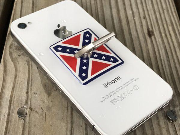 Rebel Battle Flag Phone Ring Stand