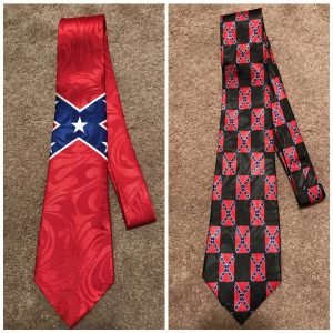 Confederate Flag Necktie