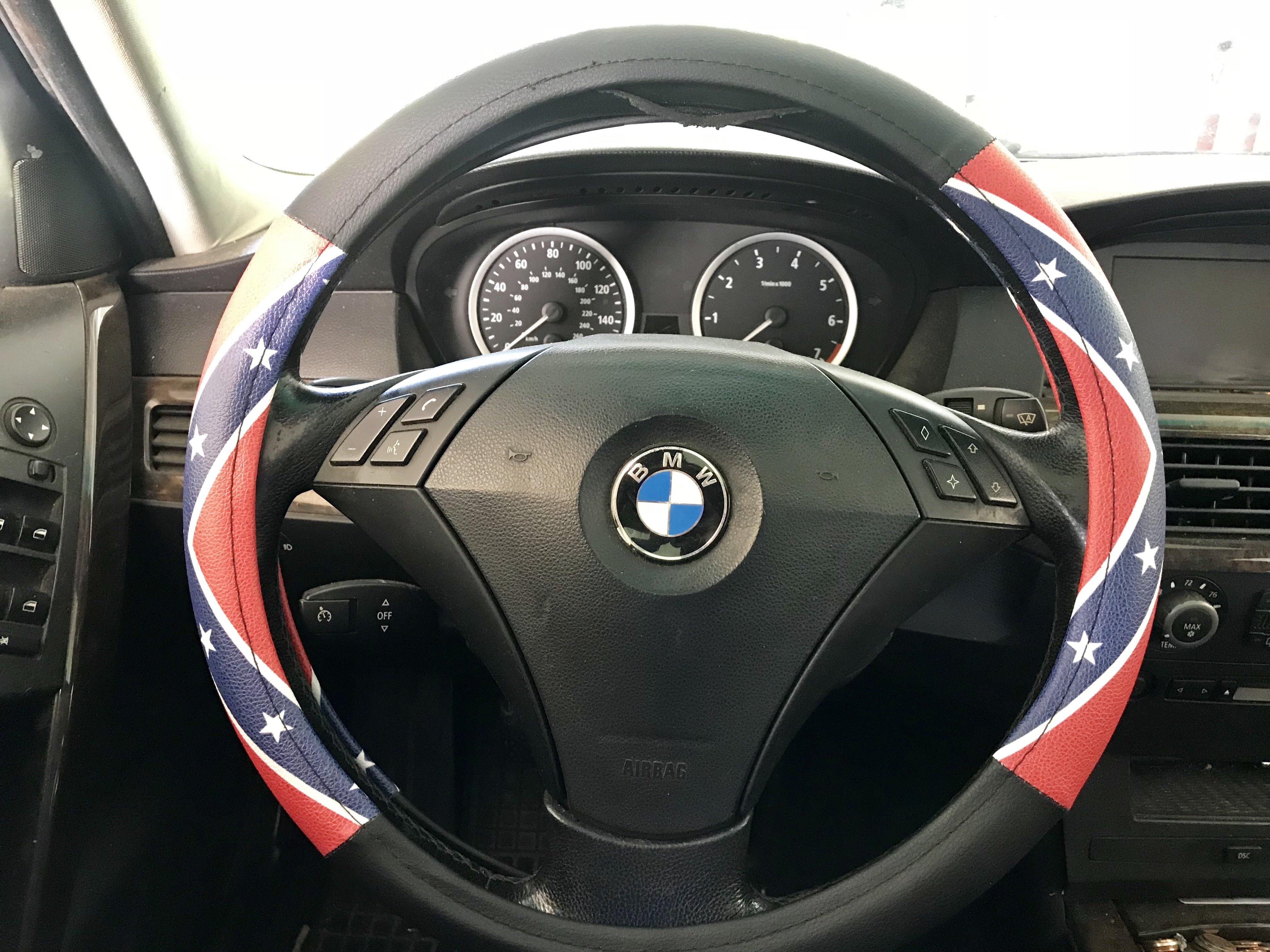 Rebel Flag Steering Wheel Cover