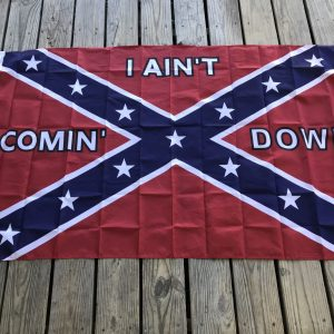 I Aint Coming Down Confederate Flag