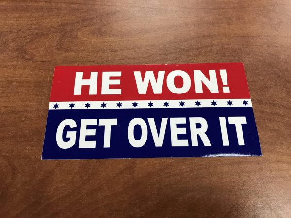 He Won Get Over It Sticker