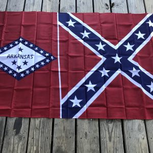 Arkansas Rebel Flag