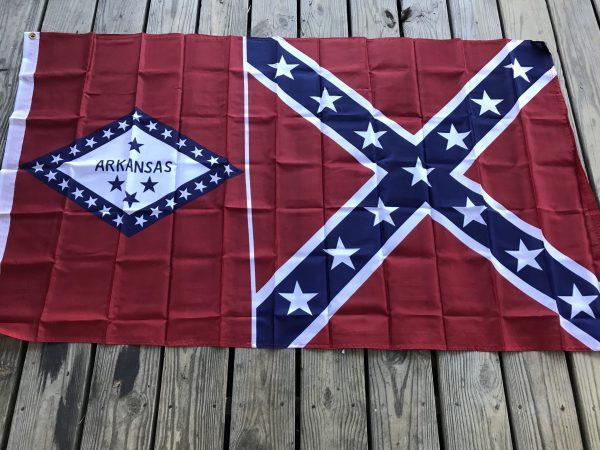 Arkansas Rebel Flag