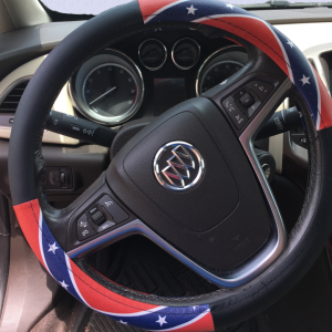 Rebel Flag Steering Wheel Cover