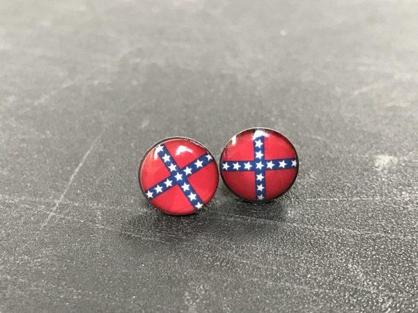 Flat Rebel Stud Earrings