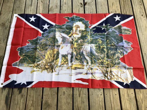 Rebel Native Flag