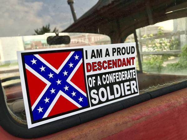 Rebel Descendant Bumper Sticker