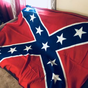 Confederate Polar Fleece Throw Blanket