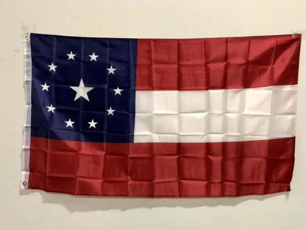 1st National Confederate Flag W/ 11 Stars