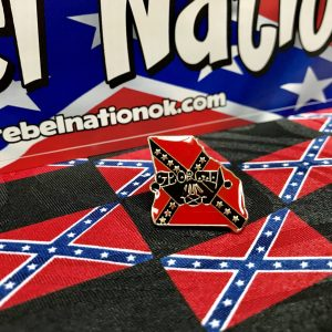 State Of Georgia Rebel Lapel Pin