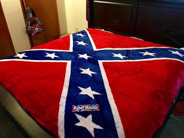 Confederate Flag Blanket