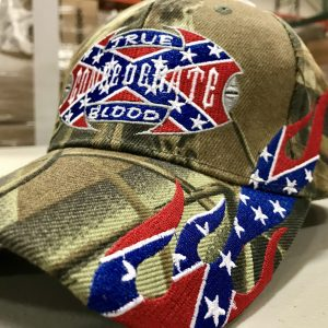 True Confederate Blood Rebel Hat