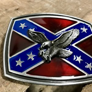 Rebel Eagle Belt Buckle