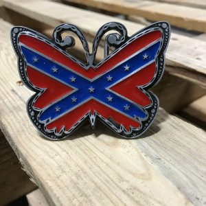 Rebel Butterfly Belt Buckle
