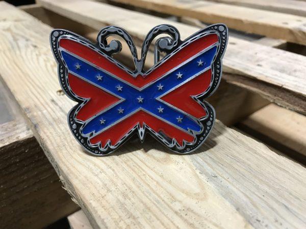 Rebel Butterfly Belt Buckle