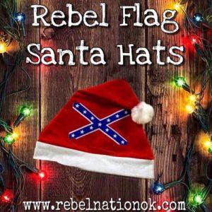 Rebel Santa Hat