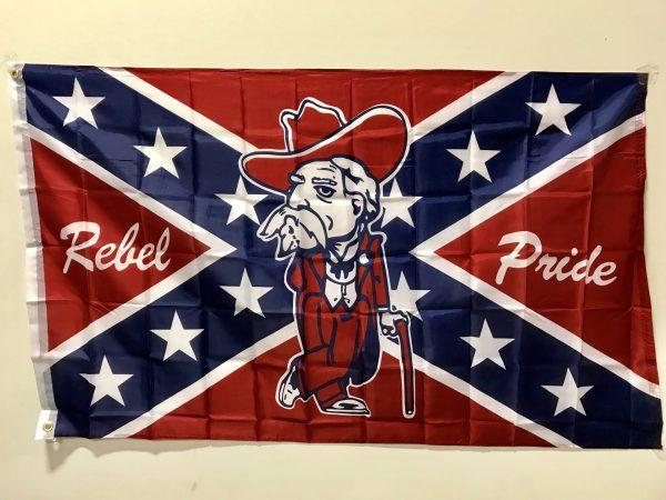 Ole Miss Rebel Pride Flag