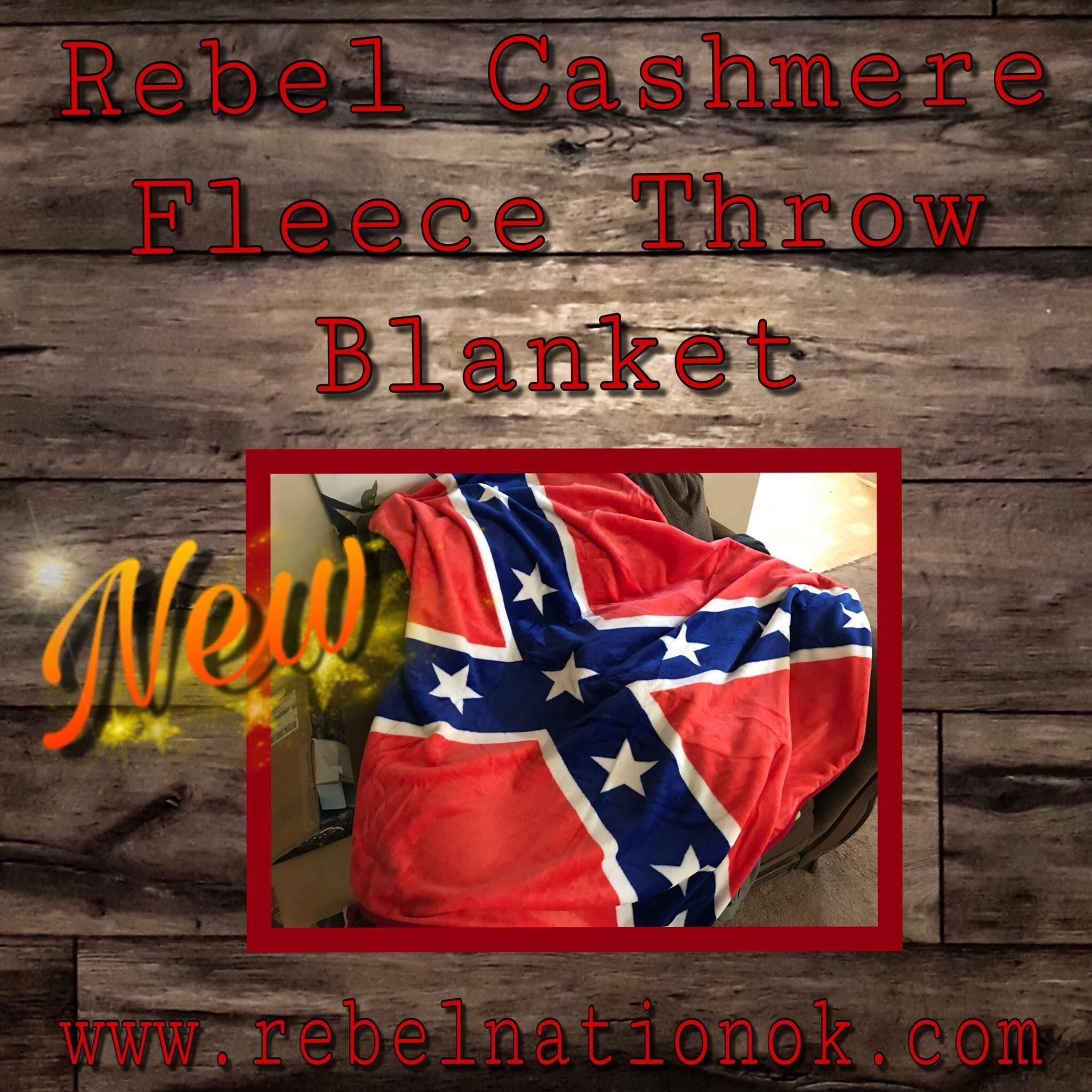 Rebel Cashmere Fleece Throw Blanket