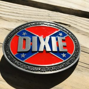 Rebel Dixie Belt Buckle