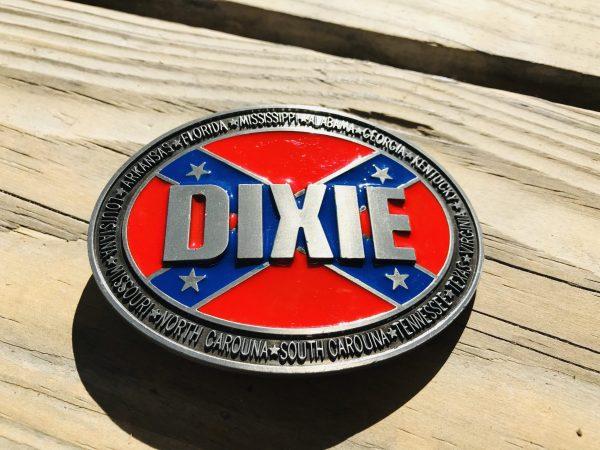 Rebel Dixie Belt Buckle