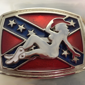 Southern Lady Belt Buckle
