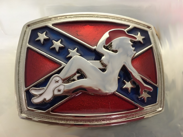 Southern Lady Belt Buckle