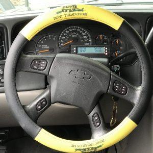 Gadsden Steering Wheel Cover