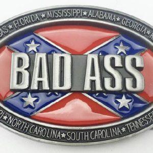 Rebel Bad Ass Belt Buckle