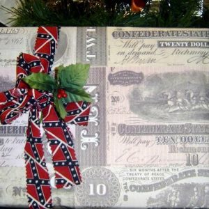 Confederate Money Wrapping Paper