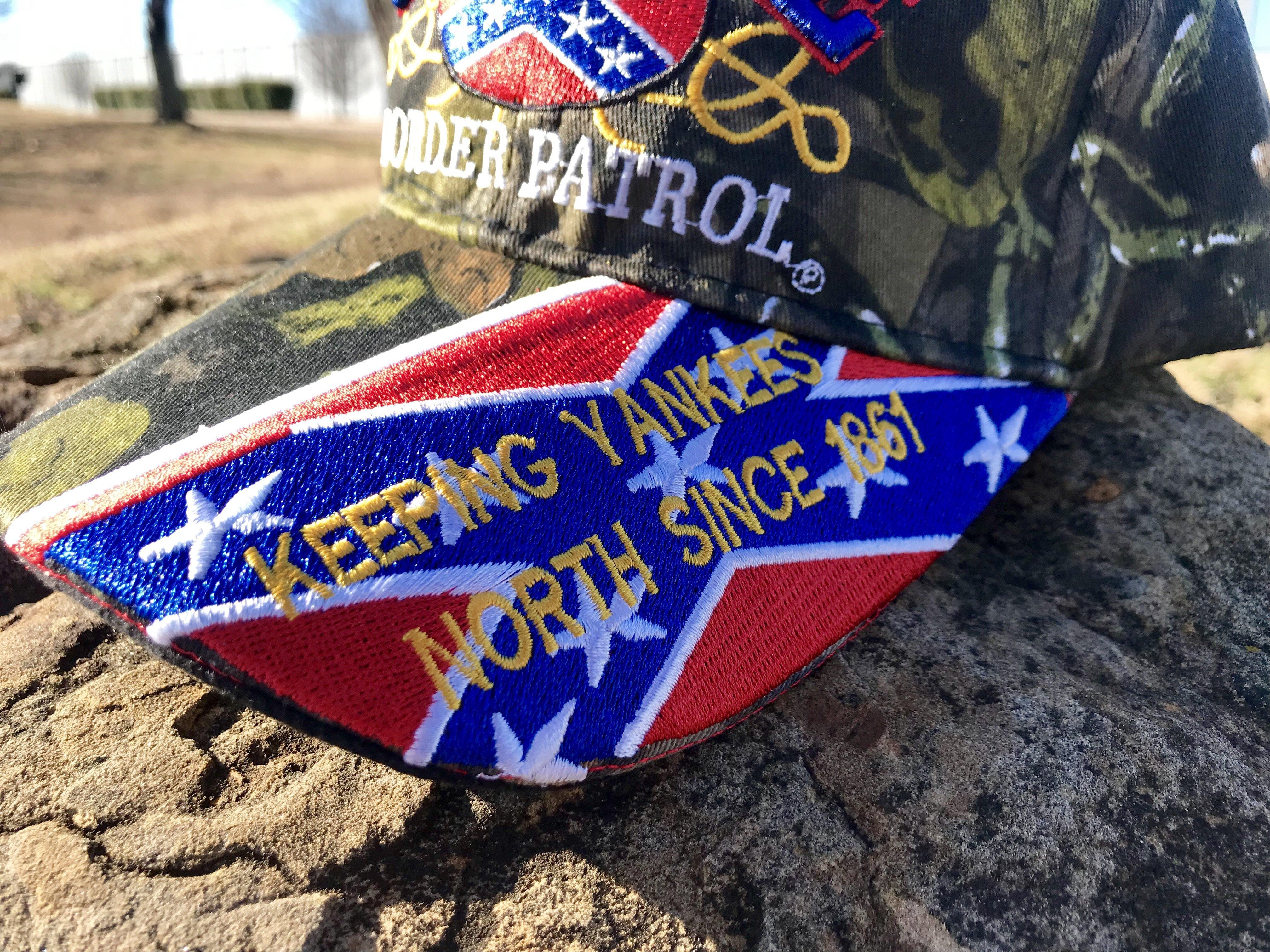 Confederate Border Control Cap