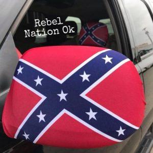 Rebel Flag Side Mirror Covers