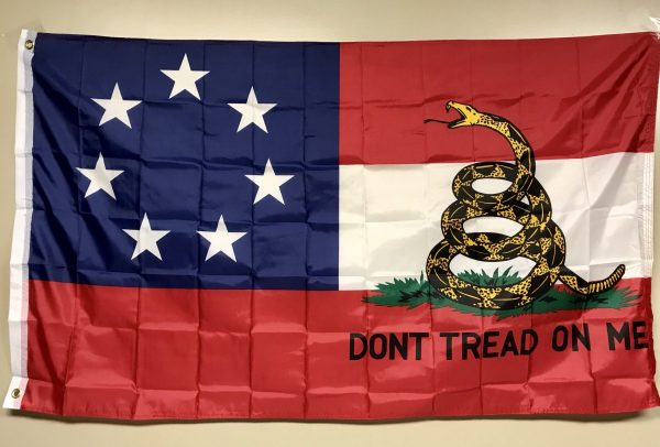 1st National Confederate Flag 7 Stars Gadsden