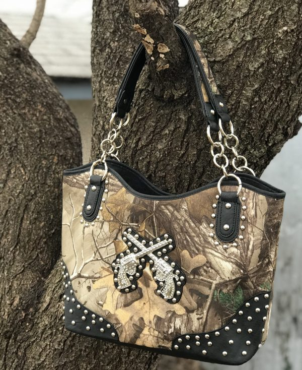 Realtree Conceal Carry Tote Bag