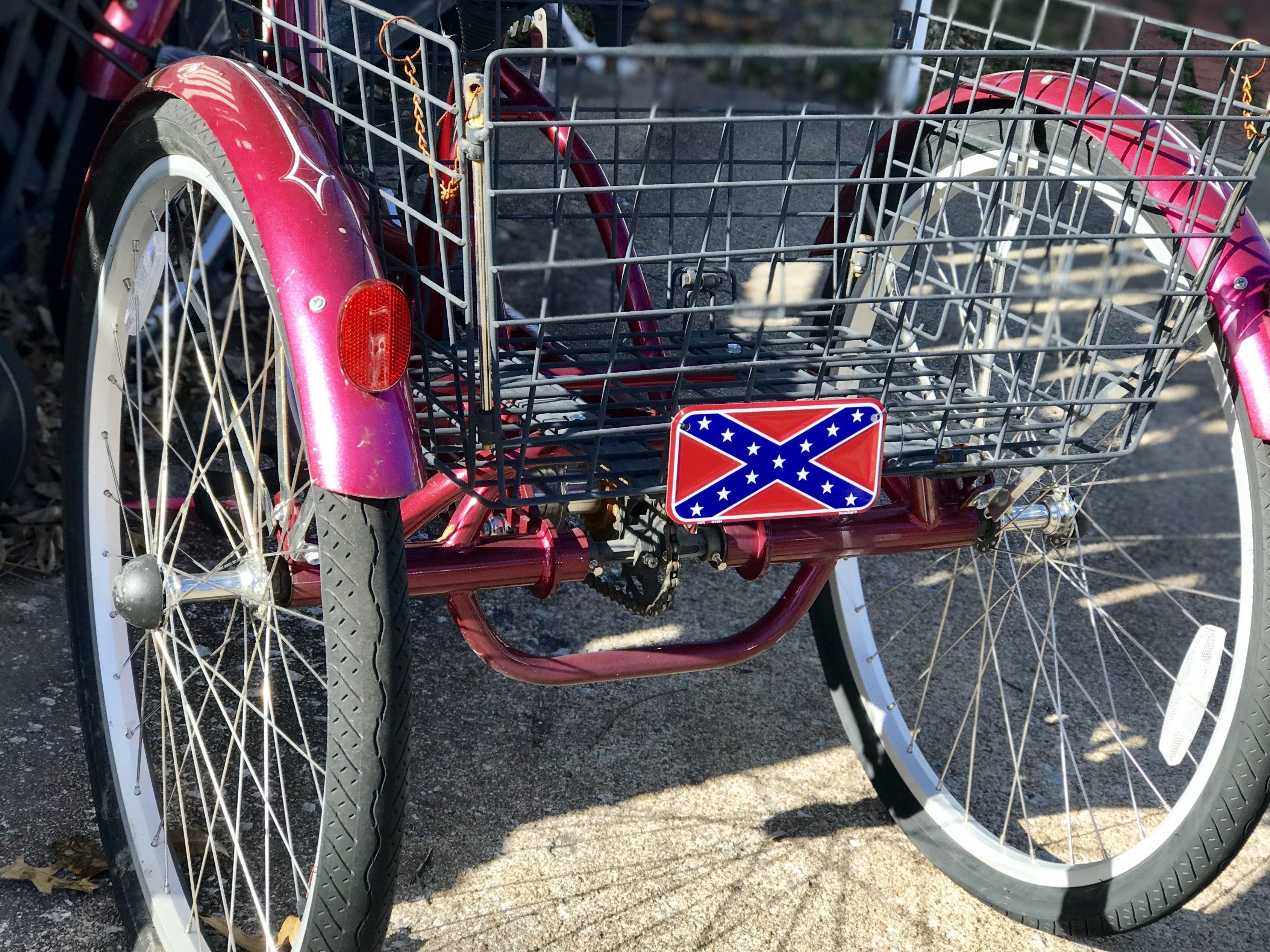 Confederate Bike License Plate