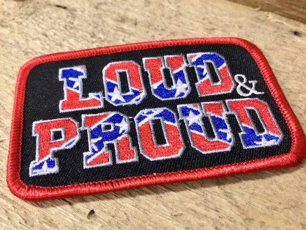 Confederate Loud & Proud Patch