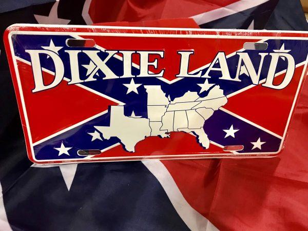 Dixieland License Plate