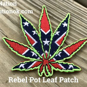 Rebel Pot Leaf Patch