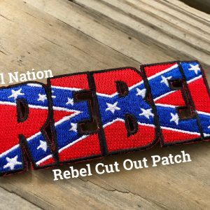 Rebel Cut Out Patch