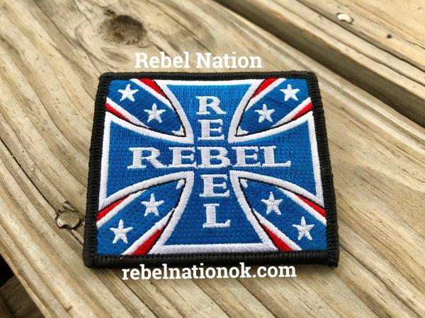 Rebel Cross Patch