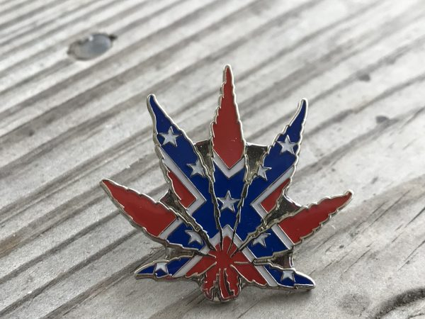 Rebel Pot Leaf Pin