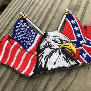America Rebel Flag Patch